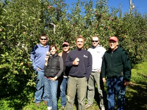 WCVT lends a hand to Pick for Your Neighbor program at Boyer's Orchard in Monkton.