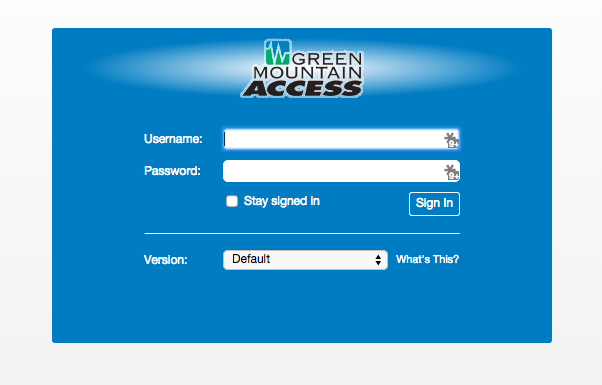 Zimbra Email - Green Mountain Access
