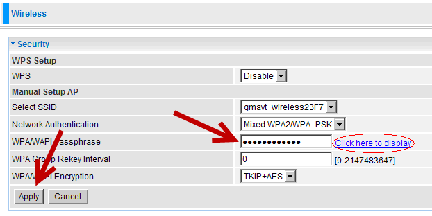 Add, Remove, or Change Your Wireless Password on the BEC