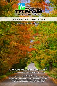 2019 Champlain Valley Telephone Directory