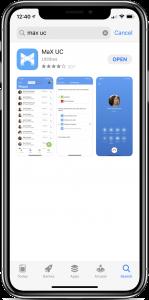 MaX UC app